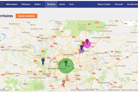 Screenshot nashconnect unb sigfox nashtag tracker gps